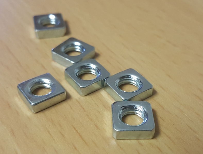 AM8 3D Printer Extrusion Profile Metal Frame nuts screw corner for Anet A8-8